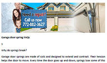 FAQs in Jensen Beach - Click here to download