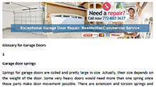 Glossary for Garage Doors in Jensen Beach - Click here to download